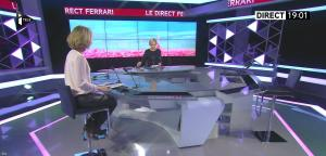 Caroline Delage dans le Direct Ferrari - 07/12/16 - 03