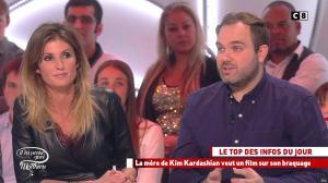 Caroline Ithurbide dans Il en Pense Quoi Matthieu - 04/11/16 - 20