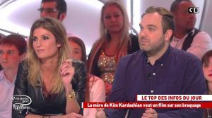 Caroline Ithurbide dans Il en Pense Quoi Matthieu - 04/11/16 - 21