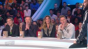 Caroline Ithurbide dans Touche pas à mon Poste - 05/01/17 - 02