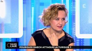 Caroline Roux dans C dans l'Air - 03/01/17 - 06