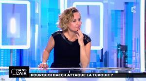 Caroline Roux dans C dans l'Air - 03/01/17 - 10