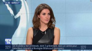 Fanny Agostini à la Météo de BFM TV - 16/12/16 - 01