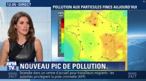 Fanny Agostini à la Météo de BFM TV - 16/12/16 - 02