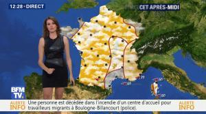 Fanny Agostini à la Météo de BFM TV - 16/12/16 - 05