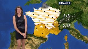 Fanny Agostini à la Météo de BFM TV - 16/12/16 - 09