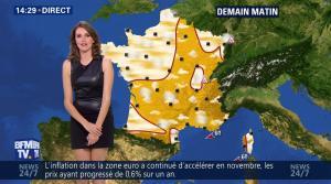 Fanny Agostini à la Météo de BFM TV - 16/12/16 - 12