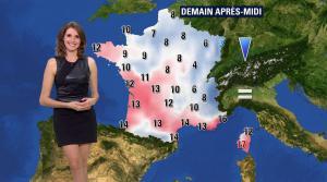 Fanny Agostini à la Météo de BFM TV - 16/12/16 - 13
