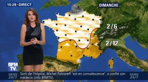 Fanny Agostini à la Météo de BFM TV - 16/12/16 - 14