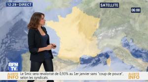 Fanny Agostini à la Météo de BFM TV - 19/12/16 - 02