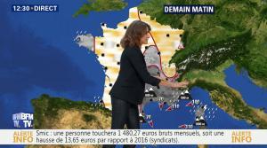 Fanny Agostini à la Météo de BFM TV - 19/12/16 - 03