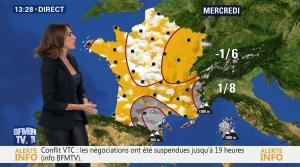 Fanny Agostini à la Météo de BFM TV - 19/12/16 - 07