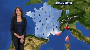 Fanny Agostini à la Météo de BFM TV - 19/12/16 - 08