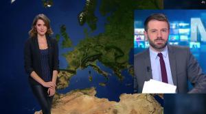 Fanny Agostini à la Météo de BFM TV - 19/12/16 - 09
