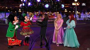 Faustine Bollaert dans Disney Party - 24/12/16 - 02