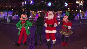 Faustine Bollaert dans Disney Party - 24/12/16 - 03