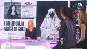 Laurence Ferrari et Aida Touihri dans le Grand 8 - 20/01/16 - 05