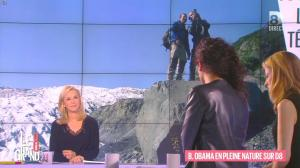 Laurence Ferrari et Aida Touihri dans le Grand 8 - 20/01/16 - 10