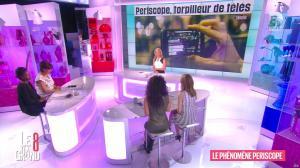 Laurence Ferrari, Hapsatou Sy et Aïda Touihri dans le Grand 8 - 21/04/16 - 16