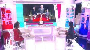 Laurence Ferrari, Hapsatou Sy et Audrey Pulvar dans le Grand 8 - 29/01/15 - 14