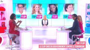Laurence Ferrari, Hapsatou Sy et Audrey Pulvar dans le Grand 8 - 29/01/15 - 17
