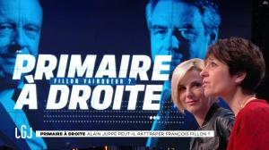 Laurence Ferrari dans le Grand Journal - 25/11/16 - 09