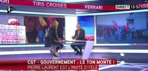 Laurence Ferrari dans Tirs Croisés - 16/06/16 - 08