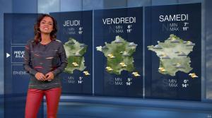 Laurence Roustandjee à la Météo du Soir - 03/12/16 - 02