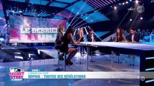 Leïla Ben Khalifa, Emilie Fiorelli et Sophia dans Secret Story, le Débrief - 09/09/16 - 03