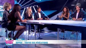 Leïla Ben Khalifa, Emilie Fiorelli et Sophia dans Secret Story, le Débrief - 09/09/16 - 04