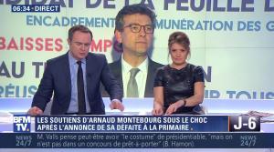 Pascale De La Tour Du Pin dans Premiere Edition - 23/01/17 - 12