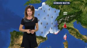 Sandra Larue à la Météo de BFM TV - 04/01/17 - 02