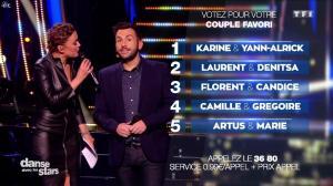 Sandrine Quétier dans Danse avec les Stars - 03/12/16 - 09