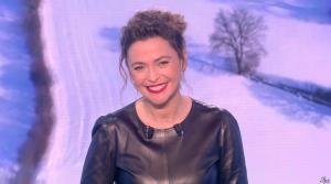 Sandrine Quétier lors du Tirage du Loto - 01/02/17 - 08