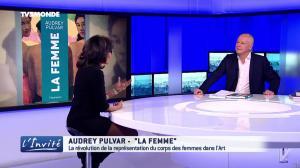 Audrey Pulvar dans l'Invite - 18/03/17 - 04