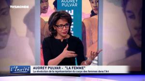 Audrey Pulvar dans l'Invite - 18/03/17 - 05