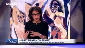 Audrey Pulvar dans l'Invite - 18/03/17 - 06