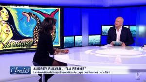 Audrey Pulvar dans l'Invite - 18/03/17 - 07