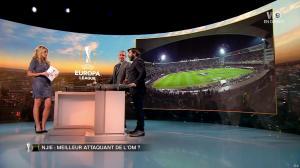 Carine Galli dans Europa League - 02/11/17 - 10