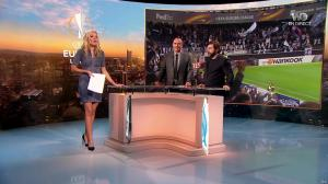 Carine Galli dans Europa League - 02/11/17 - 15
