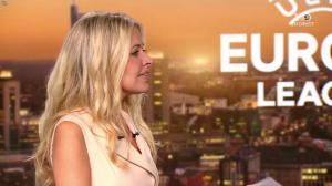 Carine Galli dans Europa League - 14/09/17 - 03