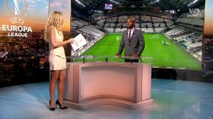 Carine Galli dans Europa League - 14/09/17 - 05