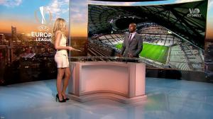 Carine Galli dans Europa League - 14/09/17 - 11
