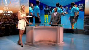 Carine Galli dans Europa League - 14/09/17 - 15