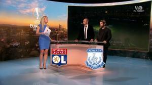 Carine Galli dans Europa League - 23/11/17 - 11