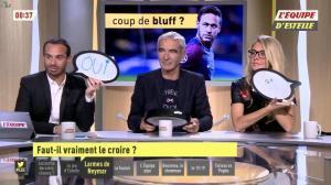 Carine Galli dans l'Equipe d'Estelle - 13/11/17 - 01