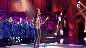 Chimène Badi dans 300 Chœurs pour Plus de Vie - 29/09/17 - 06
