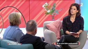 Faustine Bollaert dans Ca Commence Aujourd hui - 03/04/18 - 06