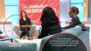Faustine Bollaert dans Ca Commence Aujourd hui - 03/04/18 - 08