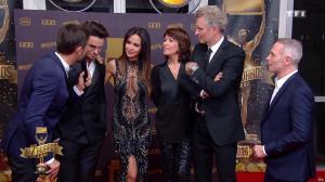 Leïla Ben Khalifa et Carole Rousseau dans les Z Awards - 13/01/17 - 02